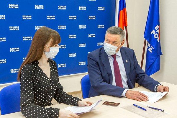 Глава региона подал заявление на участие в предварительном голосовании «Единой России»