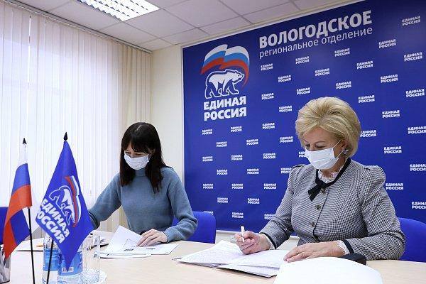 Заместитель главы региона Валентина Артамонова подала документы на предварительное голосование «Единой России»
