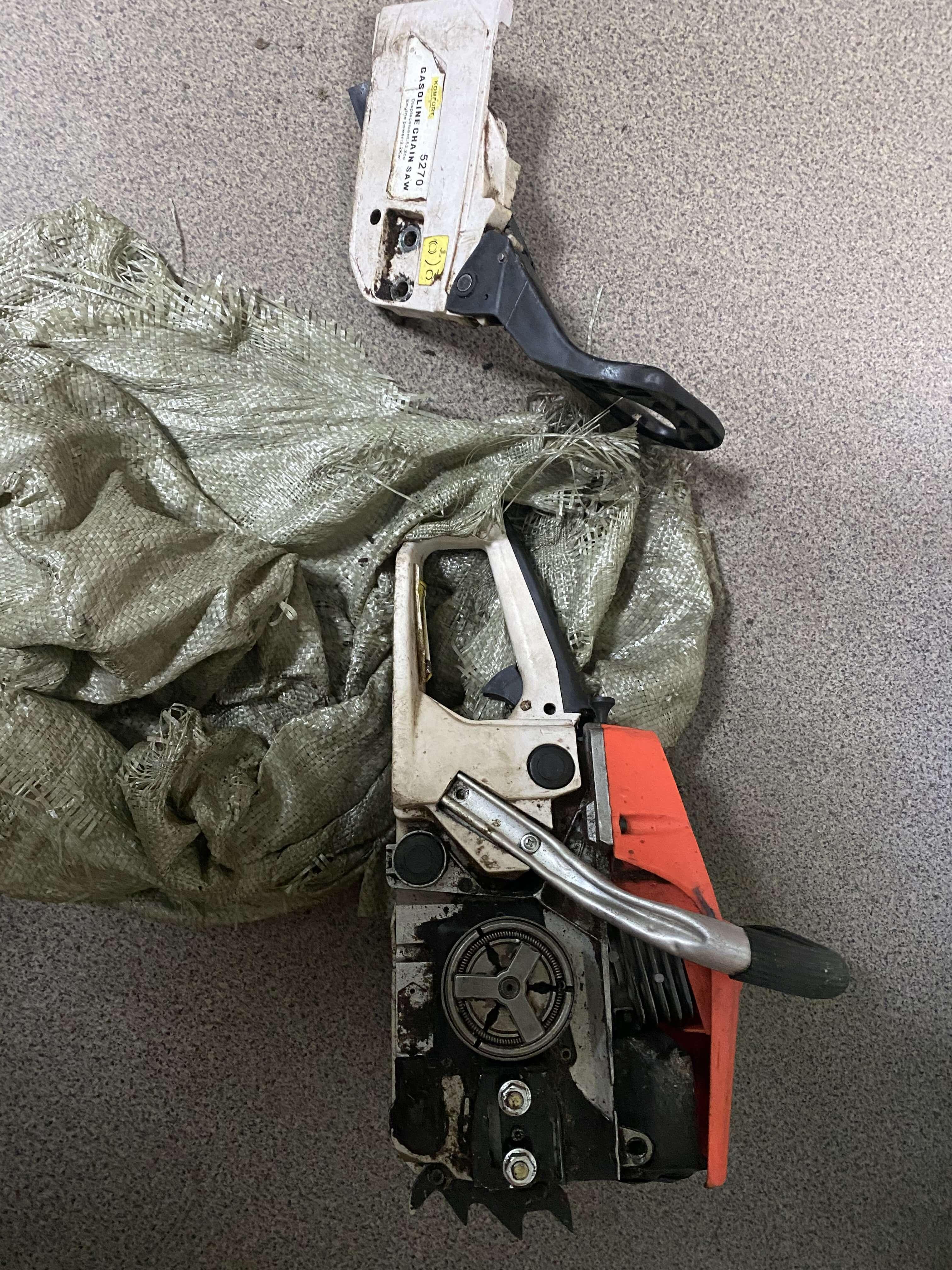 Житель Харовска украл бензопилу у своего работодателя