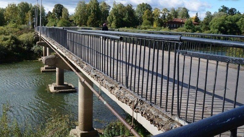 20 мостовых сооружений будут отремонтированы на Вологодчине